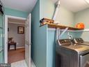 Laundry room on top level with included w&d - 20 BRUSH EVERARD CT, STAFFORD