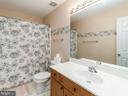 Full bath upstairs - 20 BRUSH EVERARD CT, STAFFORD