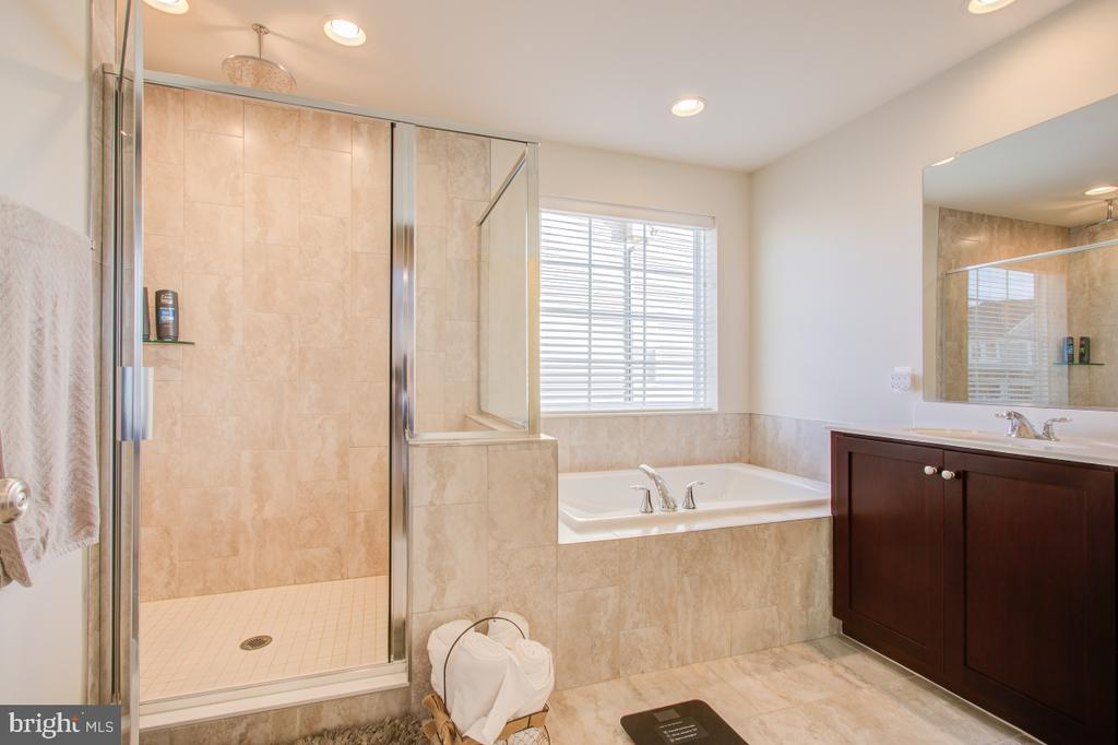 Spa like primary bathroom - 5502 HAWK RIDGE RD, FREDERICK