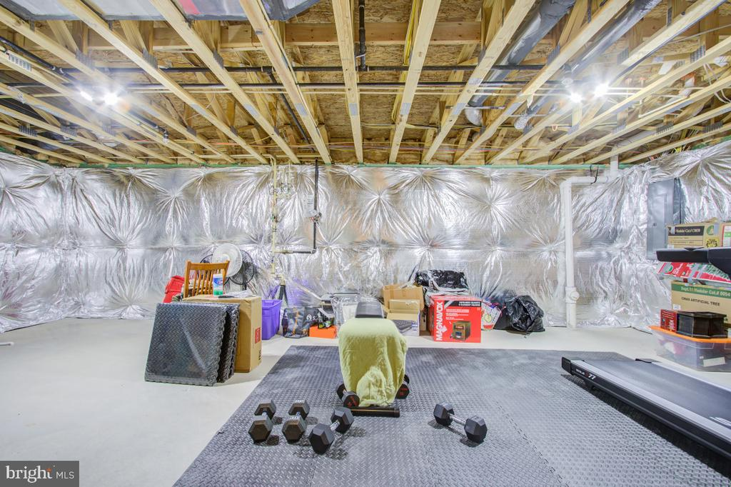 Extra space in the basement. Can be customized... - 5502 HAWK RIDGE RD, FREDERICK