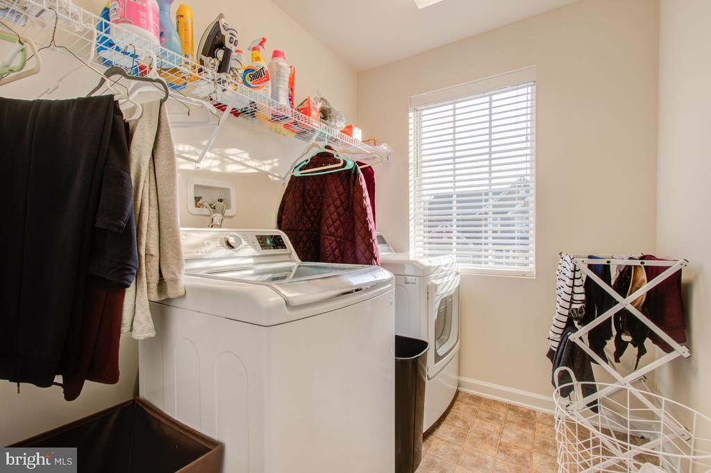 Upper Level Separate Laundry Room. - 5502 HAWK RIDGE RD, FREDERICK