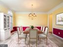Elegant Formal Dining Room - 13057 CHAMPLAIN DR, MANASSAS