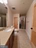 Second Master Bathroom Lower Level - 9610 DEWITT DR #PH101, SILVER SPRING