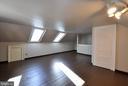 Attic Bedroom - 611 CAROLINE ST, FREDERICKSBURG