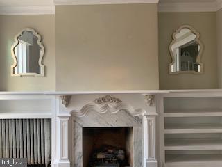 Orantely crafted  fireplace - 611 CAROLINE ST, FREDERICKSBURG