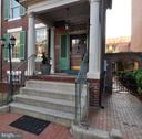 The columns and portico currently being repaired - 611 CAROLINE ST, FREDERICKSBURG