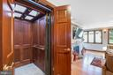 Three-level elevator with skylights - 5707 ROSSMORE DR, BETHESDA