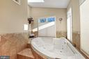 Two-person jacuzzi tub - 5707 ROSSMORE DR, BETHESDA
