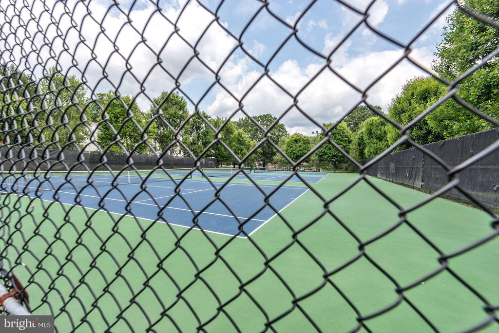 Community Tennis - 8110-E COLONY POINT RD #218, SPRINGFIELD