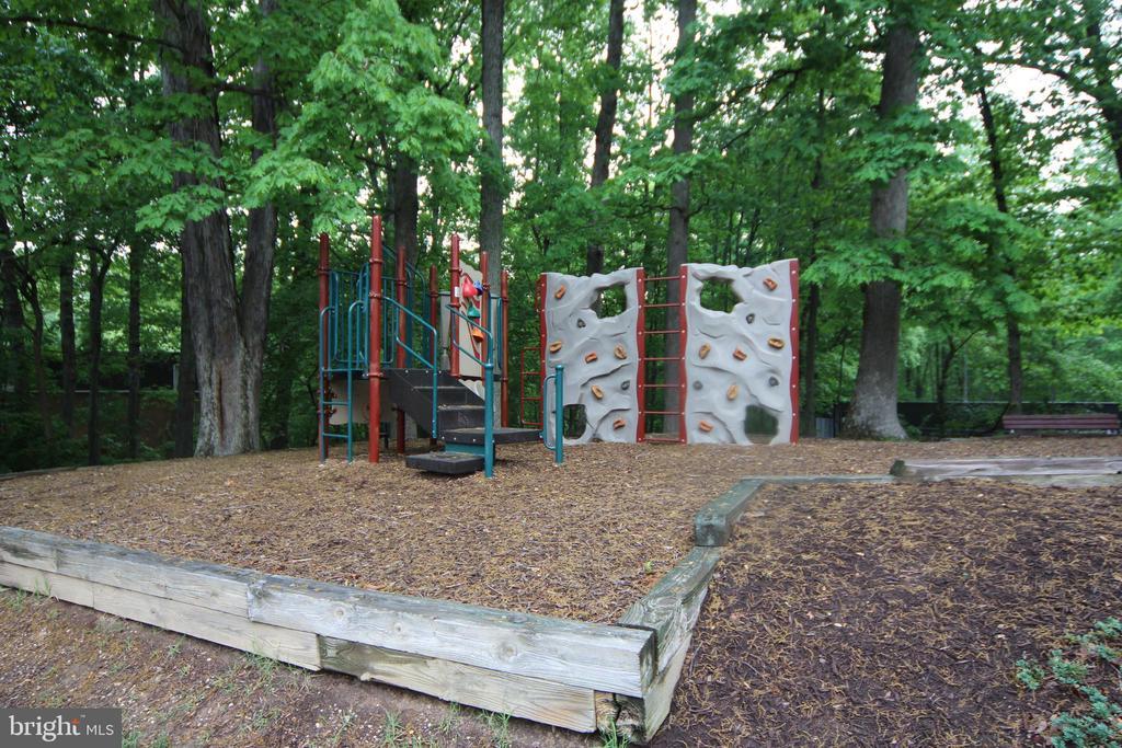 Community Tot-lot area - 8110-E COLONY POINT RD #218, SPRINGFIELD