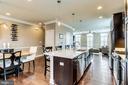 Open floor plan on main level - 4349 4TH ST N, ARLINGTON