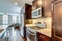 Gas cooking &  marble backsplash - 4349 4TH ST N, ARLINGTON