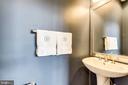 Main level half bath - 4349 4TH ST N, ARLINGTON