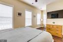 Bedroom 2 with hardwood floor - 4349 4TH ST N, ARLINGTON