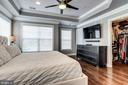 Owner's suite with crown molding - 4349 4TH ST N, ARLINGTON