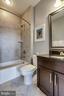 Full bath on 4th level - 4349 4TH ST N, ARLINGTON