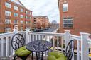 Cozy balcony off kitchen - 4349 4TH ST N, ARLINGTON