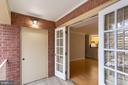HVAC closet-Double French Doors - 8110-E COLONY POINT RD #218, SPRINGFIELD