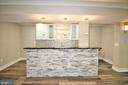 Lower Level Bar/Kitchen - 42567 STRATFORD LANDING DR, BRAMBLETON