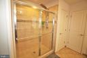 Primary Bath - Walk-in Shower - 42567 STRATFORD LANDING DR, BRAMBLETON