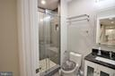 Lower Level Full Bathroom - 42567 STRATFORD LANDING DR, BRAMBLETON