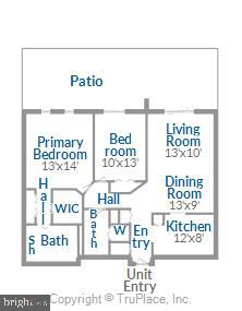 Floorplan - 2100 LEE HWY #117, ARLINGTON