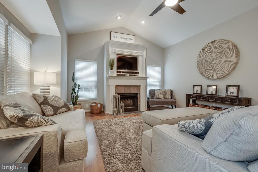 Vaulted Ceiling in Family Room - 43216 LINDSAY MARIE DR, ASHBURN