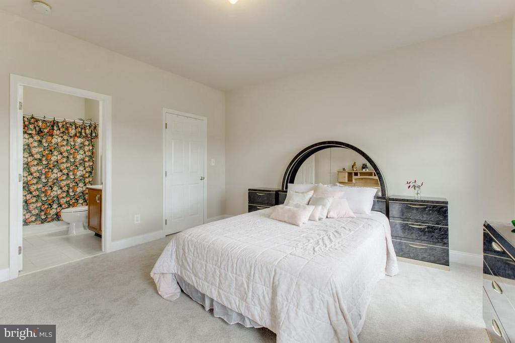Bedroom #5 with private bathroom - 41205 CANONGATE DR, LEESBURG