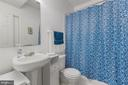 Lower level Jack-n-Jill Full Bathroom - 41205 CANONGATE DR, LEESBURG