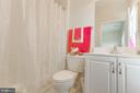 Private bathroom for bedroom #3 - 41205 CANONGATE DR, LEESBURG