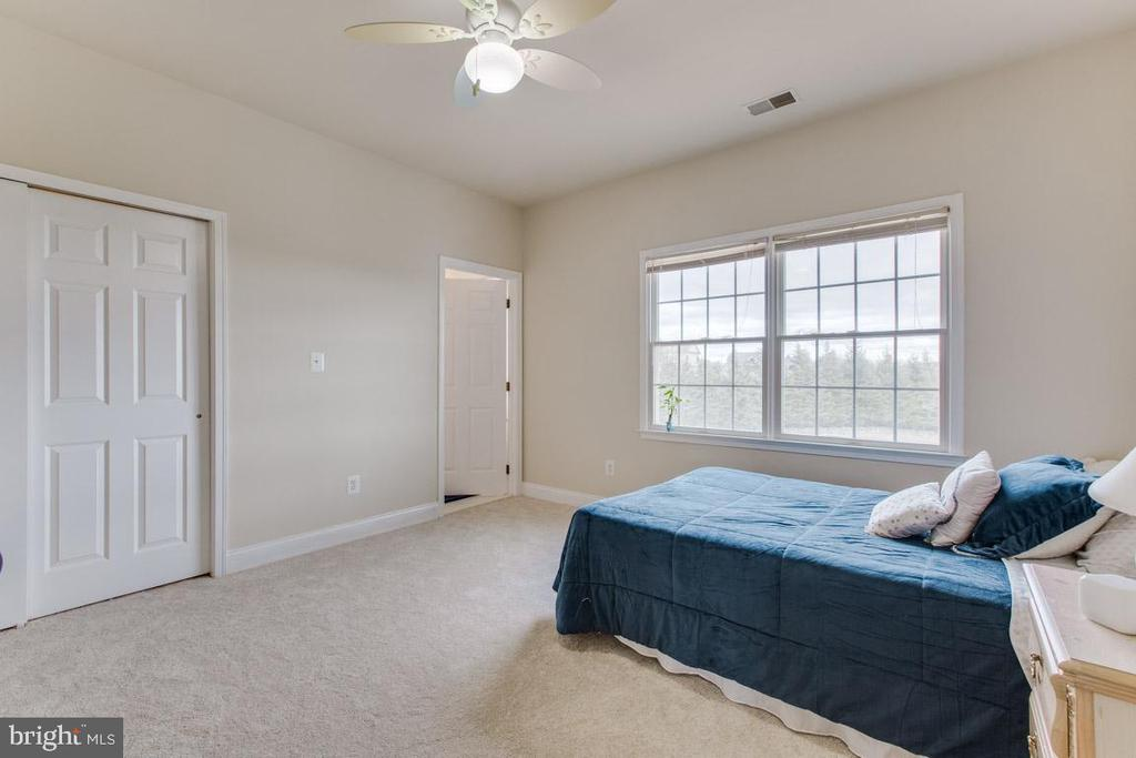 Large Bedroom #3 with private bathroom - 41205 CANONGATE DR, LEESBURG