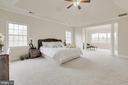 Master bedroom- Alt view - 41205 CANONGATE DR, LEESBURG