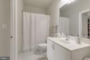 Main level full bathroom - 41205 CANONGATE DR, LEESBURG