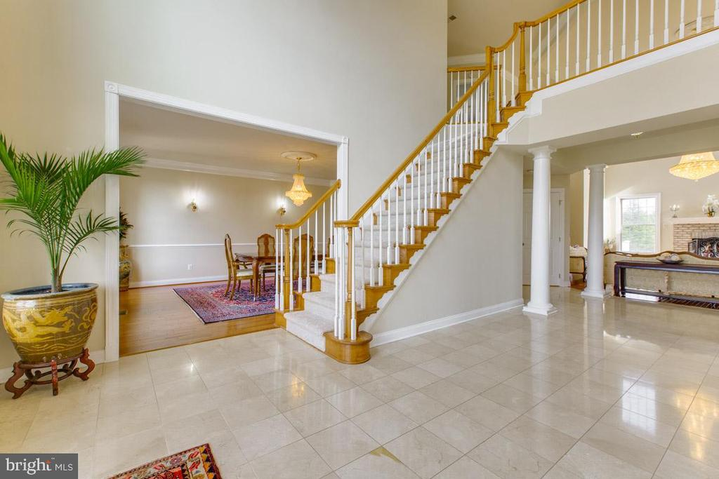 Alt view of open floor plan - 41205 CANONGATE DR, LEESBURG