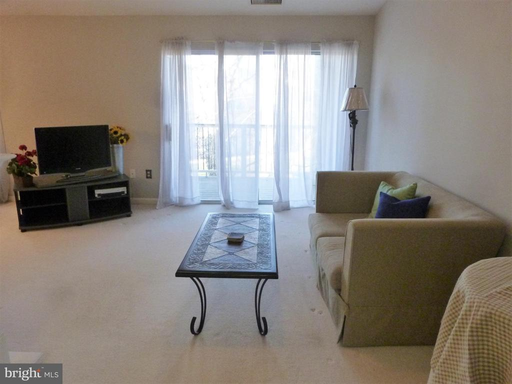 Spacious Living Room walks out to deck - 20577 SNOWSHOE SQ #301, ASHBURN