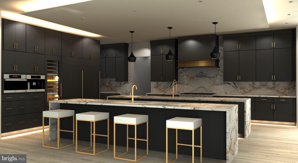 Conceptual Kitchen Design - 2776 N QUEBEC ST, ARLINGTON