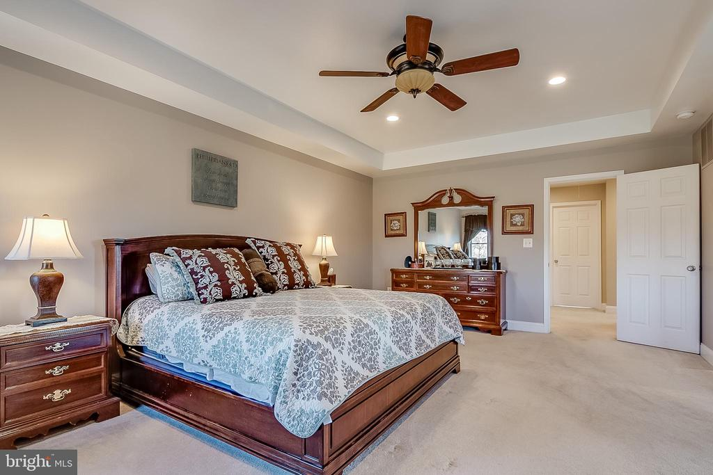 Primary bedroom - 42070 SADDLEBROOK PL, LEESBURG