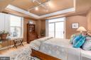 Luxurious Spare Bedroom with Grass Cloth, Millwork - 1555 N COLONIAL TER #100, ARLINGTON