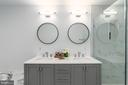 Double Vanity with White Quartz Countertop - 1555 N COLONIAL TER #100, ARLINGTON