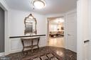 Welcome to Unit 100 and Reception/Marble Flooring - 1555 N COLONIAL TER #100, ARLINGTON