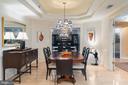 Elegant Octagonal Dining Room - 1555 N COLONIAL TER #100, ARLINGTON