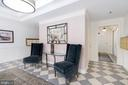Intimate Lobby Just Updated - 1555 N COLONIAL TER #100, ARLINGTON