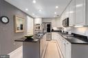 Abundant Dark Marble Counters for Prep Work - 1555 N COLONIAL TER #100, ARLINGTON