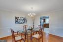 An expansive setting for dining in style - 4510 MARQUIS PL, WOODBRIDGE