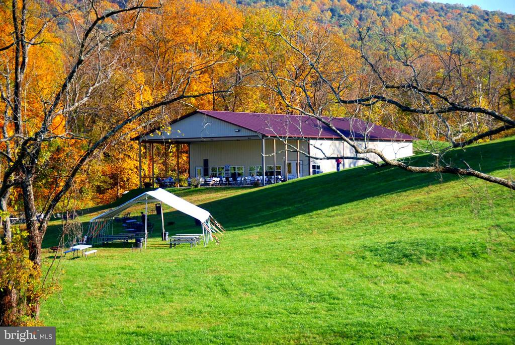 Winery building and one of the party tents - 12138 HARPERS FERRY RD, PURCELLVILLE