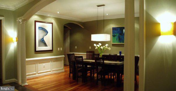 Dining room - 206 GREENHOW CT SE, LEESBURG