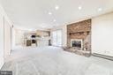 1st Fireplace on main level - 38365 GOOSE CREEK LN, LEESBURG