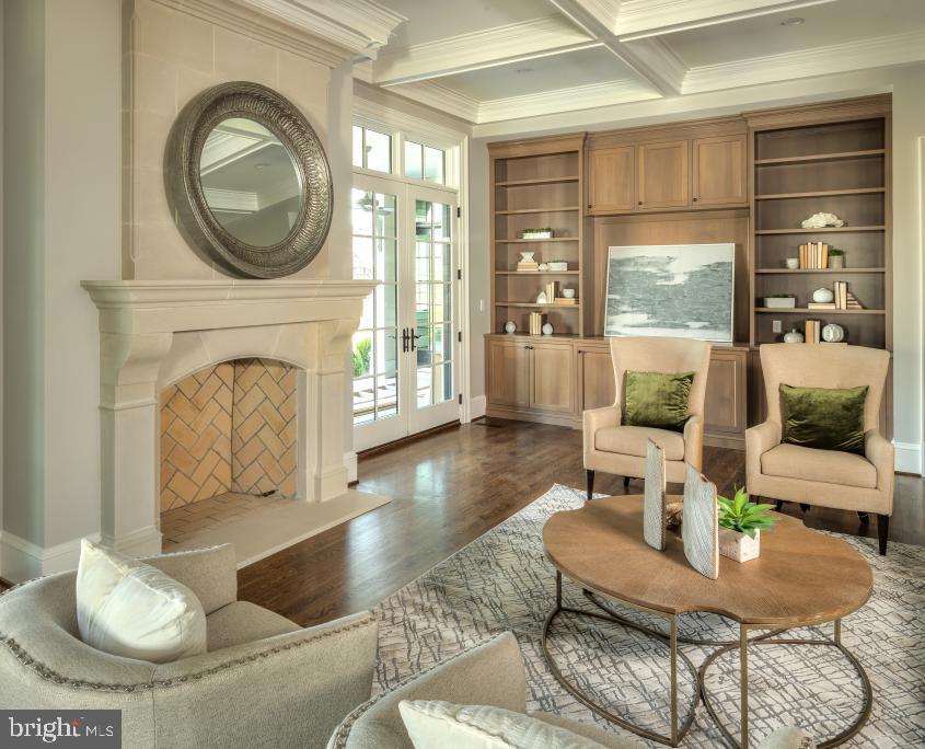 954 Mackall Farms Lane - Living Room - 7008 BENJAMIN ST, MCLEAN