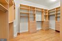 His or Her's Custom Closet - 40543 COURTLAND FARM LN, ALDIE