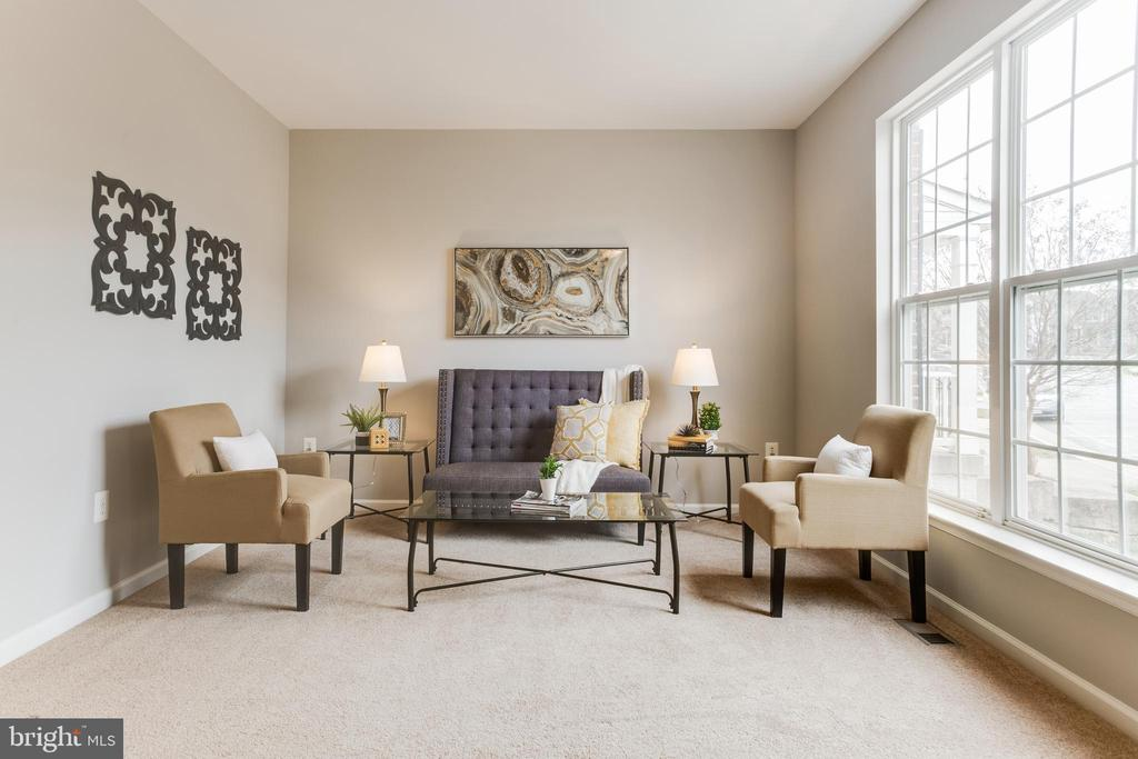Living Room - 156 EXECUTIVE CIR, STAFFORD